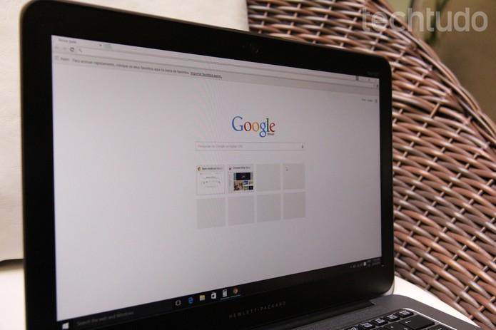 Google (Foto: Zíngara Lofrano/TechTudo)
