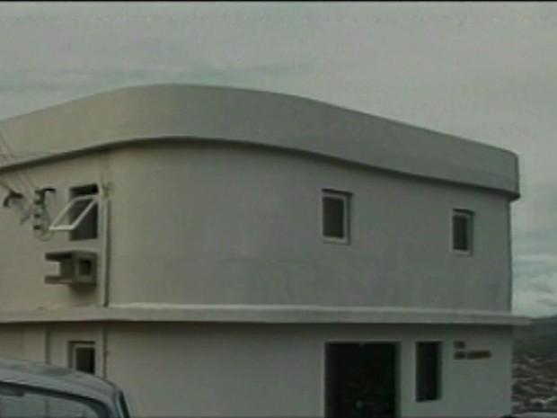 Primeira sede da TV Asa Branca (Foto: Reprodução/ TV Asa Branca)