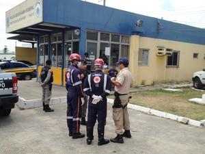 Motorista de carro-forte foi vítima de bandidos na Paraíba (Foto: Walter Paparazzo/G1)