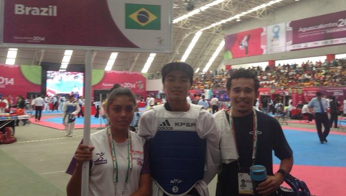 Amapaense ganha bronze no Pan de taekwondo e visa Olimpíadas de 2016 (Foto: Bruno Igreja/Arquivo pessoal)
