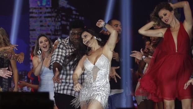 Dança dos Famosos grava vinheta para temporada 2016 (divulgação)