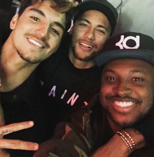 Medina, Neymar e Thiaguinho  (Foto: Instagram / Reprodução)