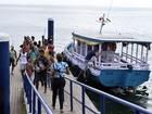 Travessia Salvador-Mar Grande opera sem restrição após 4 dias com parada