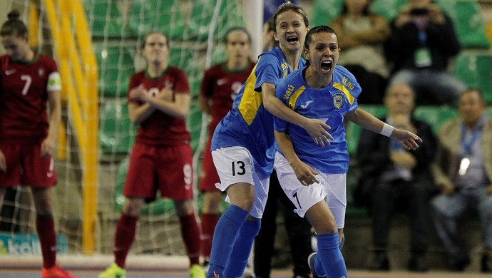 Brasil 4 x 3 Portugal final Mundial de futsal (Foto: Divulgação _Federação Costa-riquenha de Futsal)
