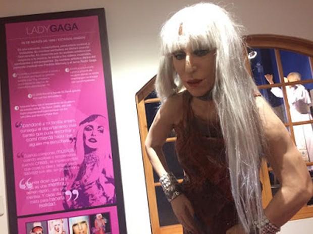 Estátua de cera de Lady Gaga (Foto: Reprodução)