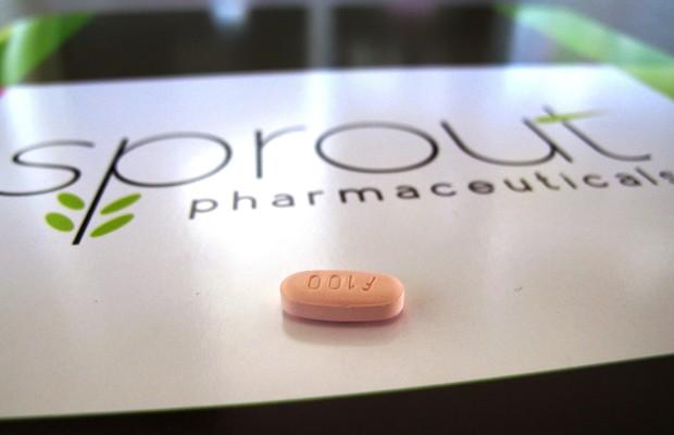 Flibanserin, a primeira droga para estimular a libido feminina (Foto: Allen G. Breed/AP)