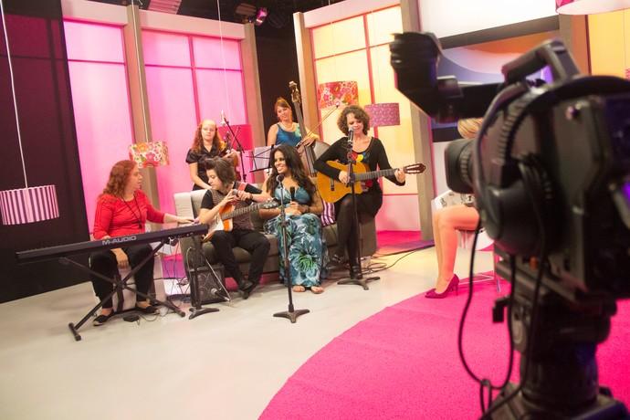 Mistura com Rodaika Bibiana Petek, Luiza Prohmann, Bethy Krieger, Ana Krüger e Thalita Mença (Foto: Maicon Hinrichsen/RBS TV)