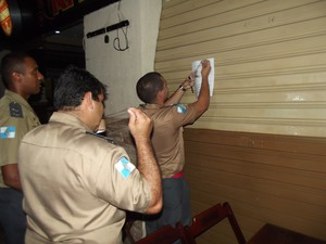 operação vistoria boates na região dos lagos (Foto: Heitor Moreira/G1)
