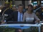 Macri toma posse e promete ser implacável contra corrupção