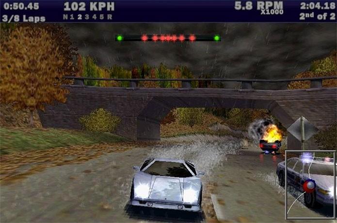 Hot Pursuit, o terceiro da série, deu um salto gráfico (Foto: Divulgação)