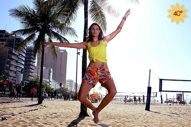 Perdi logo três quilos , conta Elea Mercurio, do  Batalha de quiosques  na  MTV. O esporte melhora postura, concentração e ainda seca. c888a2252e