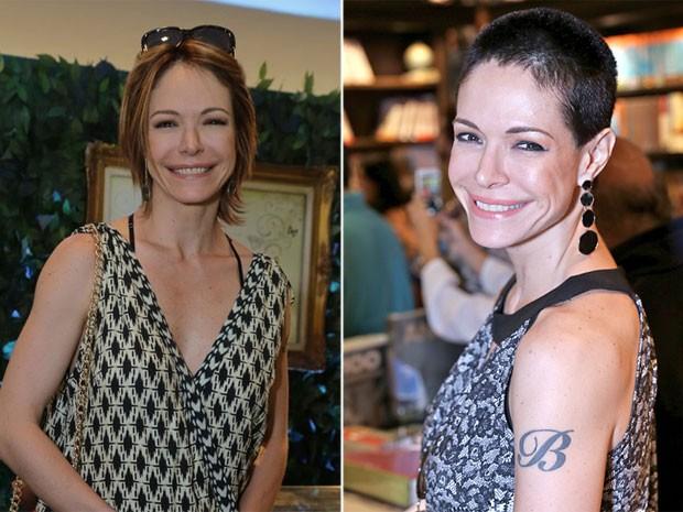 Babi Xavier: antes e depois (Foto: Ag. News e Murillo Tinoco/ Divulgação)