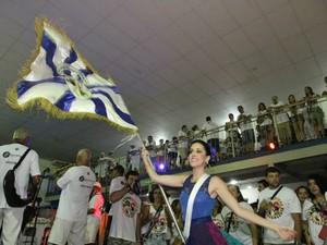 Corre Atrás faz ensaio na Quadra do Santa Marta. (Foto: Dibulgação/ Corre Atrás)