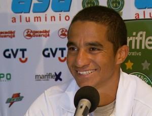 Max Pardalzinho, atacante do Guarani (Foto: Reprodução EPTV)