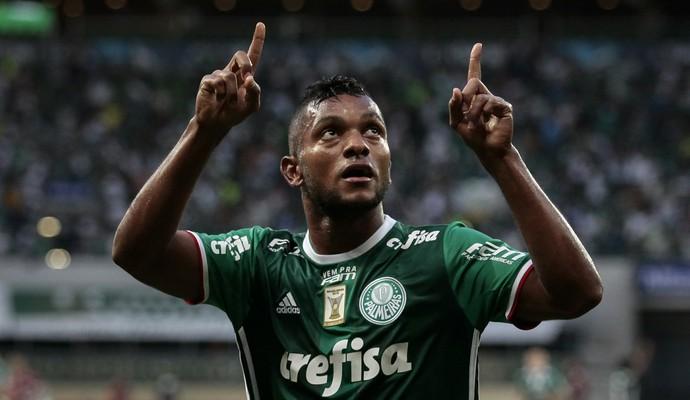 fcfd93a7f Borja Gol Palmeiras x Ferroviária (Foto: Ale Frata/Código 19/Estadão  Conteúdo