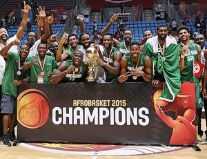 Nigéria, basquete, Afrobasket 2015 (Foto: Fiba/Divulgação)