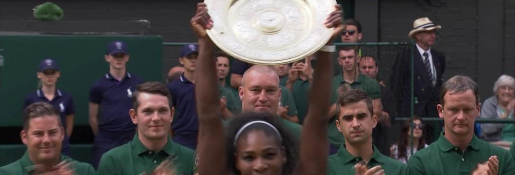 Serena Williams conquista o  sétimo título em Wimbledon
