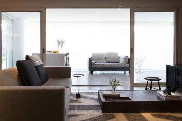 Apartamento sóbrio e contemporâneo (Foto: divulgação)