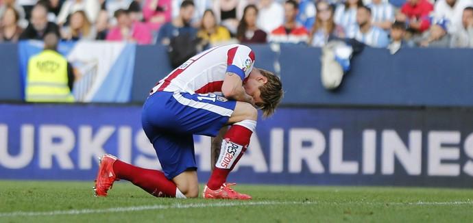 Fernando Torres Atlético de Madrid x Malaga (Foto: EFE)