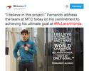 Especulado na Mercedes, Alonso diz que fica na McLaren para ser campeão