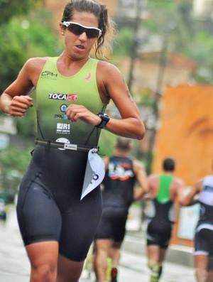 karine ximenes, triatlo, corrida (Foto: Divulgação / Unipê)