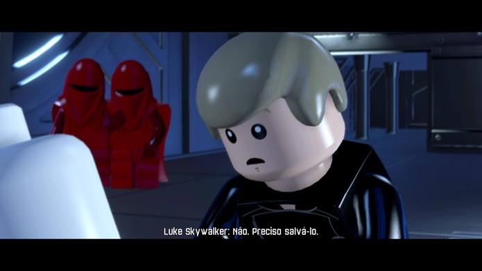 LEGO Star Wars: The Force Awakens começa ainda na antiga trilogia (Foto: Reprodução/Felipe Vinha)
