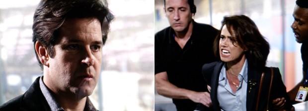 Jonas fica sem ação diante das acusações de Sandra (Foto: Geração Brasil / TV Globo)