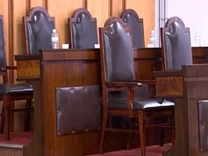 Sete jurados julgam o caso em Sorocaba (Foto: Reprodução/TV TEM)