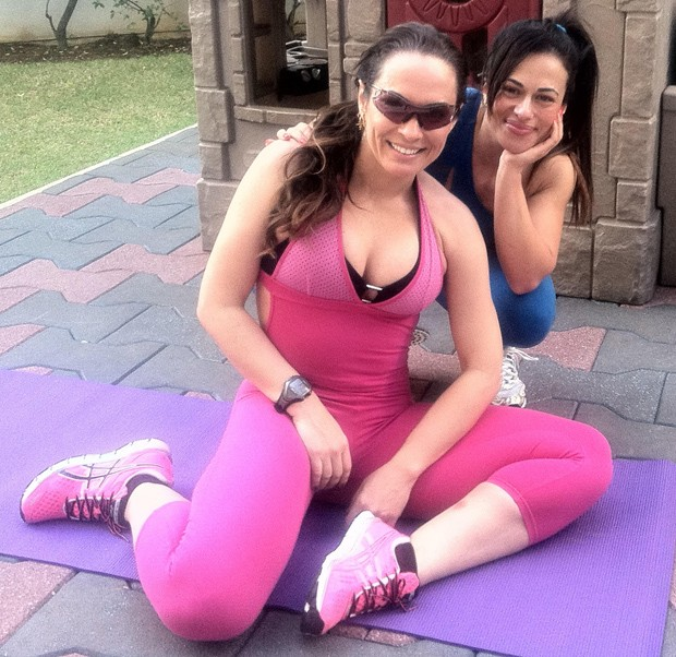 Claudia Gentil e Núbia Oliiver (Foto: Paduardo/R2assessoria)