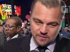 Leonardo DiCaprio e outros astros comentam indicações ao Oscar 2016