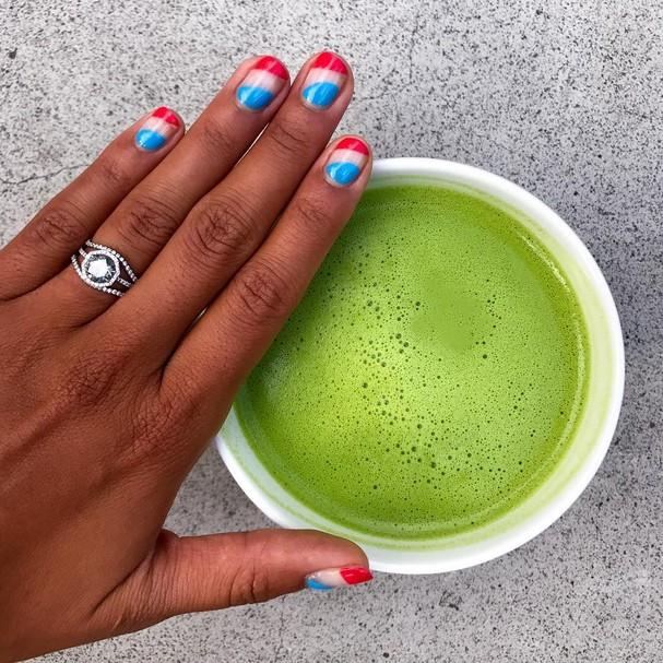 Nova York também é o paraíso do suco verde! (Foto: Instagram/Reprodução)
