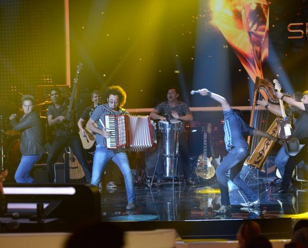 Trio Violada (Foto: Camila Serejo/TV Globo)
