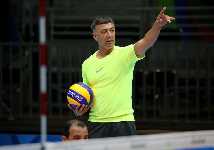 Fernando Guimarães técnico seleção vôlei sentado (Foto: Fernando Maia / Divulgação CPB)