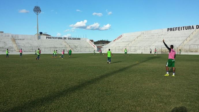 Salgueiro, treino (Foto: Ednardo Blast/TV Grande Rio)