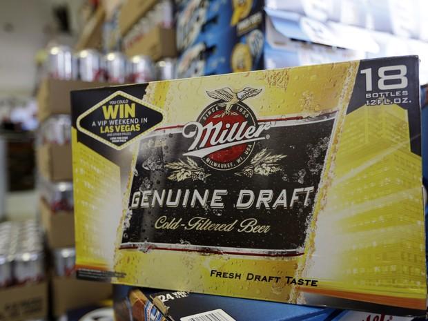 SABMiller é a segunda maior cervejaria do mundo e dona de marcas como Miller, Peroni (Foto: AP)