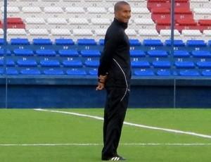cristovão borges vasco treino (Foto: Gustavo Rotstein / Globoesporte.com)
