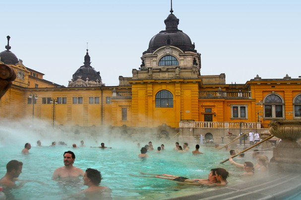 Spas na Europa celebram antigas termas romanas (Foto: Divulgação)