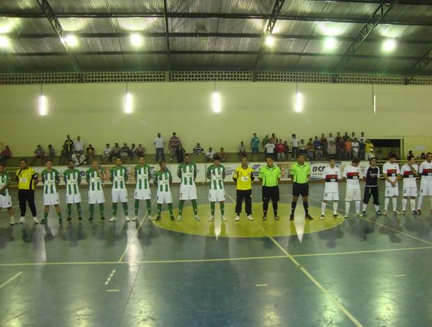 Conceição do Pará X São Gotardo pelas quartas de final da Copa Integração de Futsal (Foto: Thiago Carvalho)