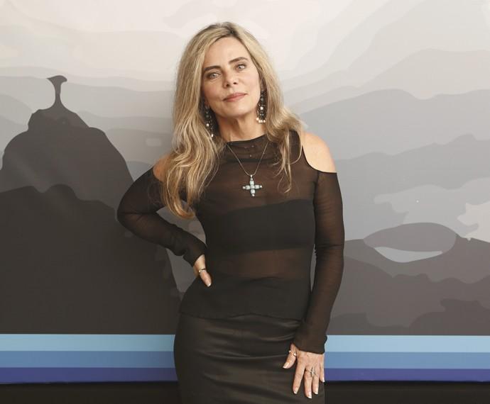 Bruna Lombardi diz que não faria mais ensaios nu: 'Não sinto mais esse desejo' (Foto: Inácio Moraes / Gshow)