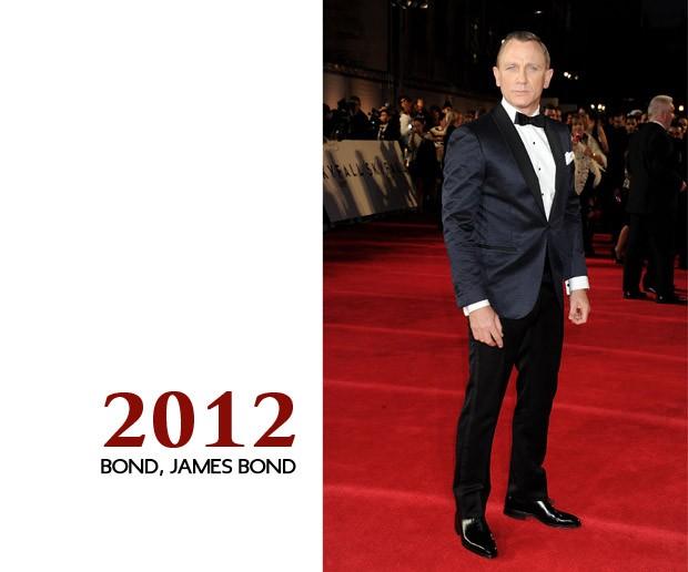 """E na estreia mundial de """"007- Operação Skyfall"""", Craig chegou e arrasou. Lição aprendida.  (Foto: GQ)"""