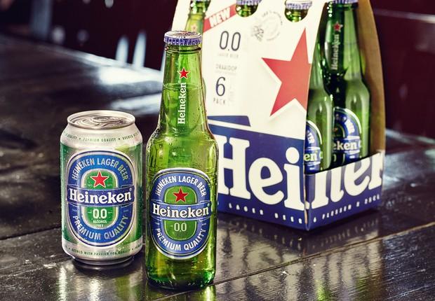 Heineken lança versão sem álcool de sua cerveja, batizada de Heineken 0.0 (Foto: Divulgação)