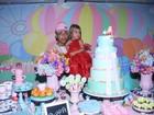 MC Duduzinho festeja os três anos da filha mais velha, Lara Princess