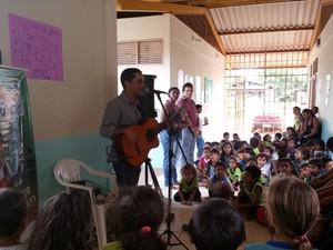 Projeto já atendeu mais 20 mil alunos de todo o estado (Foto: Foto: Divulgação)