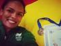 Aline Silva é ouro, e Brasil fatura mais três medalhas em torneio na Itália