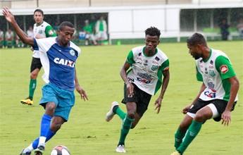 Goiás joga mal e fica no empate com Uberlândia em amistoso na Serrinha