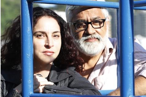 Rosane Svartman e Paulo Halm (Foto: Ana Branco)