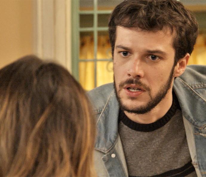 Giovanni fica furioso com revelação (Foto: TV Globo)