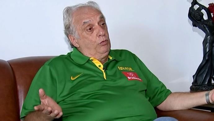 Antonio Carlos Barbosa, técnico, seleção feminina, basquete (Foto: Reprodução / TV TEM)