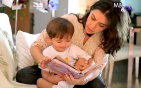 Pais devem ler para os filhos pequenos, diz neuropediatra