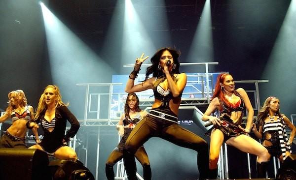 A cantora Melody Thorton na sua época de Pussycat Dolls (Foto: Getty Images)
